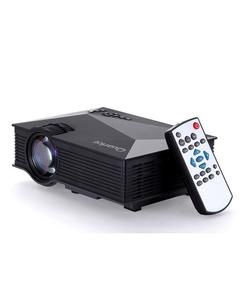 UC46+ - Mini WiFi Portable LED Projector with Miracast DLNA Airplay - Black