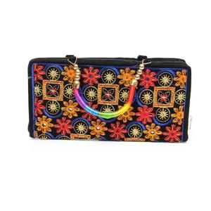 Ladies Hand Clutch - Multicolored