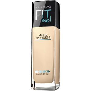 Maybelline New York Fit me Matte with poreless Foundation