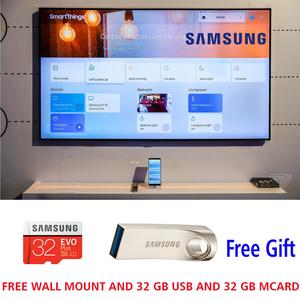 Samsung 43 inch UHD LED flat LOOK smart tv NU5300 5 series with free wall mount and 32 gb usb - 2 years warranty - all android features included