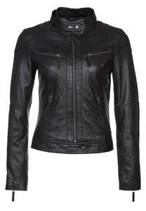 Women Zipper  Leather jacket Genuine Leather