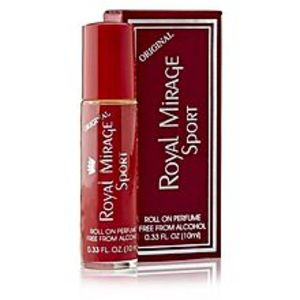 Royal Mirage Sport Roll On Perfume For Men - 10 Ml