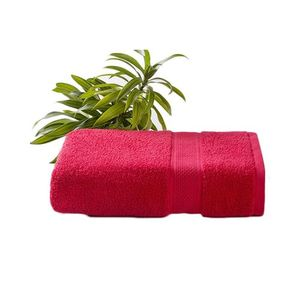 Red Cotton Hand Towel HTE-002
