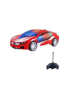 RC Car with Led lights - Red