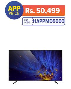 """P6 - Smart UHD LED TV - 43"""" - Black"""