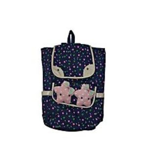 Satrangi Arts 2 STAR CUTIE BAG FOR SCHOOL AND COLLEGE- BLUE
