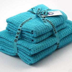 Alkaram Towel 4 - Piece Towel Set Aqua