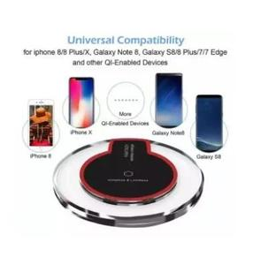 Imported Fantasy 2.0 Ampere Universal Qi Crystal Fast Wireless Charger Samsung Wireless Charger Supported Samsung Galaxy Note Iphone Huawei Oppo Android Mobile Wireless Charger Mobile Gadgets  (Black)