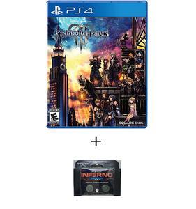 PLAYSTATION 4 DVD Kingdom Hearts 3 PS4 PLUS KONTROL FREEK