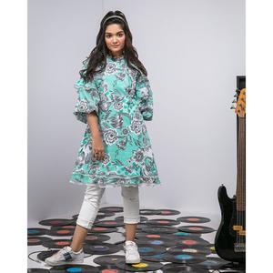 """Alkaram studio MAK Summer 2019 Vol-1 Green Lawn 1 PC Unstitched Suit For Women -A132216508"""