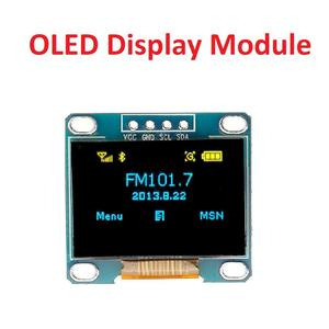 0.96 Inch 4Pin Yellow Blue Color OR White Color IIC I2C OLED Display Module 12864 LED For Arduino