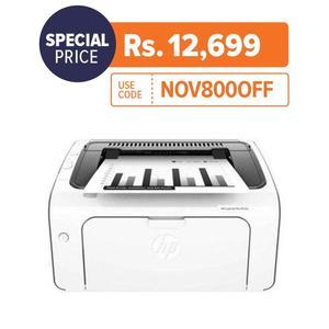 HP M12w - LaserJet Pro -  Wireless Laser Printer - White
