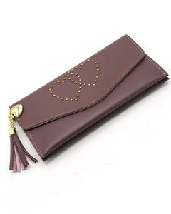 Stylish Lady Wallet Phone Pouch Handbag For Women - Pink