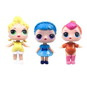 VAKIND DIY Wear Clothes Girl Doll Baby Change Dolls Action Figure Toys Kids Gift