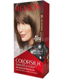 Color Silk 3D Technology USA For Men and Women No 50 Light Ash Brown