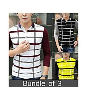 super bazarPack Of 3 Strap Polo Ywb T-Shirt'S