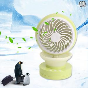 Mini Portable Air Conditioning Fan USB Mist Spray Home Office Cooling 2 Speed 1