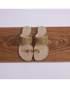Stone mash Slippers - Golden