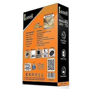 Lunar Lwm-701 - Wireless Mouse - Black (Brand Warranty)