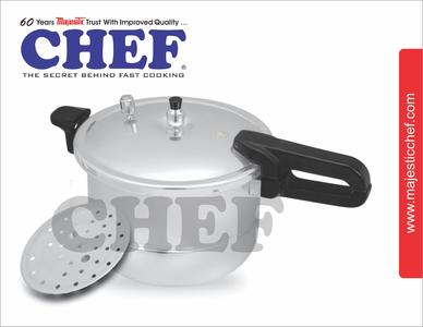 CHEF Steam Roaster With Pressure Cooker 1305 9 Liters