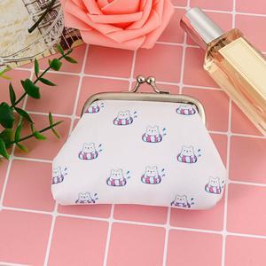 FashionieStore Woman's wallet Bag Women Lady Fashion Vintage Leather Small Wallet Hasp Purse Clutch Bag