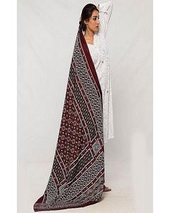 Multicolor Color Sindhi Ajrak FB-0354