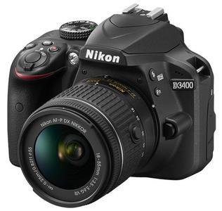 Nikon D3400 DSLR with 18-55mm Lens Camera