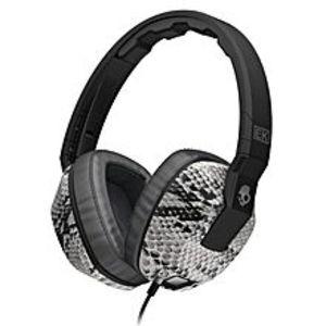 SkullcandyCrusher with Amplifier & Mic (Koston Snake / Black) -  SGSCFY-103