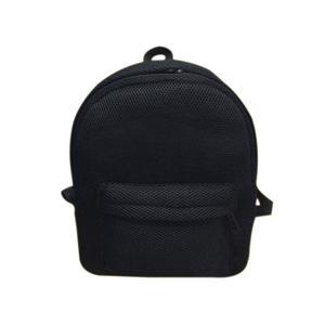 Amart-D New Fashion Women Backpack Net Yarn Grid Breathable Mesh Ultra-thin School Bag