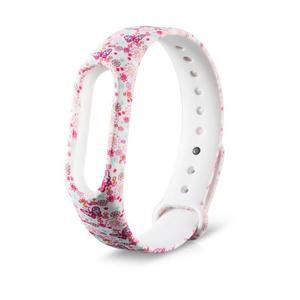 Amazing  Watchband Wristband Soft TPU Colour Decoration Sports Band for Xiaomi Band2