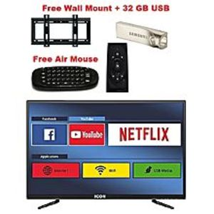 """Icon MartICON 32 """" LED Full HD Android Smart TV With free Wall Mount+32 GB USB+Air Mouse"""