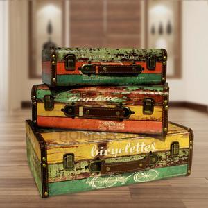 Set of Vintage Briefcase Box