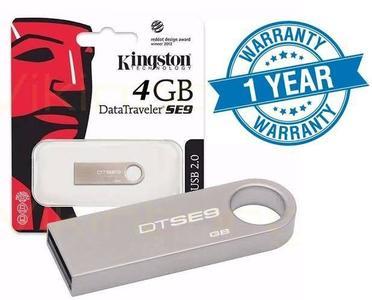 Kingston USB Datatraveller SE9 4GB 1 YEAR WARRANTY