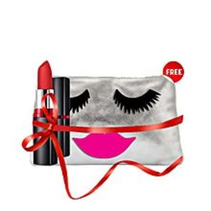 Maybelline New York FREE pouch with Color Show Matte Lipstick - M201 Bold Crimson