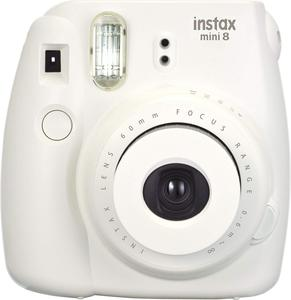 Fujifilm Instax Mini 8 Instant Camera White
