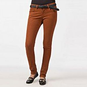 The Ajmery Women's Light Brown Cotton Chinos. FS-803