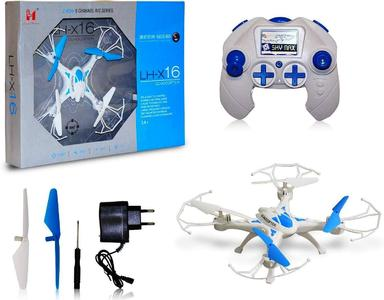 Wi-Fi Drone LH-X25 2.4G 4CH 720P FPV Camera with LED Light & 360 Camera View