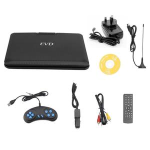 FJD-960 9.8-Inch DVD Player 270 Degrees Swivel Screen EVD With TV Tuner