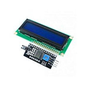 Arduino16X2 Line Lcd Display With Blue Backlight With I2C Module