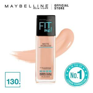 Maybelline New York Fit Me Matte + Poreless Foundation - (30ml)