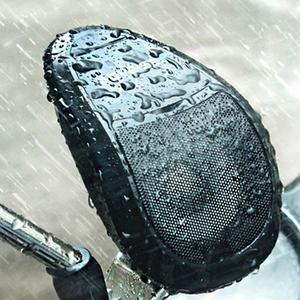 EF 2PCS MT493 Motorcycle Speakers MP3 Audio Player Waterproof FM Tuner