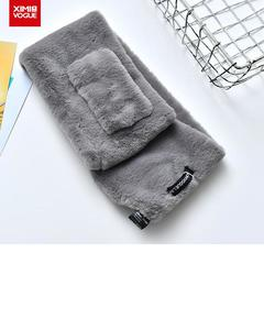 Winter Protection New Fashion Furry Soft Neck Scarf/Scarve/Muffler for Women- Size: 16x90cm