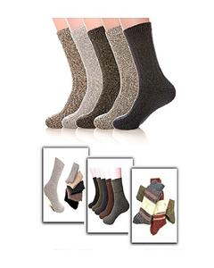 Long Warm Winter Socks By Sik Collection pack of 6