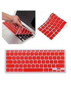 MacBook Laptop Keyboard Protector (Pattern 1) - Red