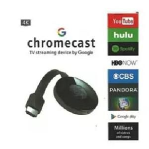 Google Chromecast 4K Digital HD Media Streamer 2nd Generation High Quality