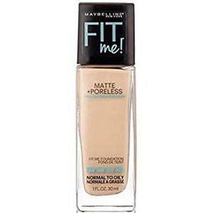 Maybelline Fit me foundation, matte + poreless - 120 classic lvory