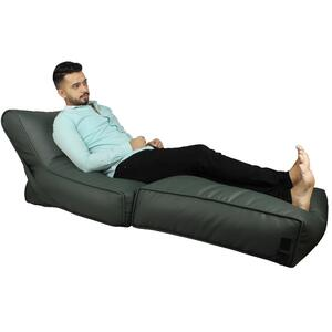 Beanbag Bed Chair Sofa Cum Bed Wallow Filp - Out Lounger - Leather