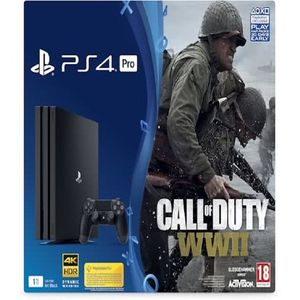 PlayStation 4 Pro 1TB Call Of Duty WWII Bundle