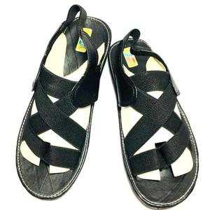 50% New Sports Stylish Women Black Sandal With Straps for Style (Same Product Will Deliver)