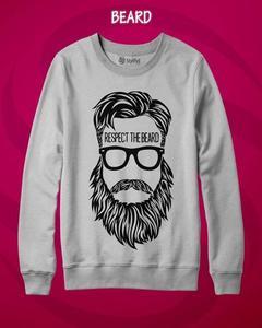 Fleece Printed Sweatshirt for Men
